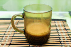 Coffee. Cafe brown color cup Stock Image