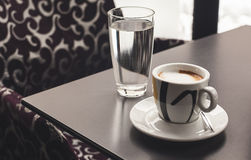 Coffee in Cafe Royalty Free Stock Photography