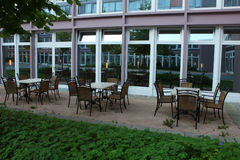 Coffee cafe in the hotel,munich 2011 Stock Photography