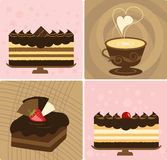 Coffee & Cake Royalty Free Stock Images
