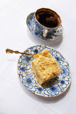 Coffee and cake. Morning with coffee and cake Royalty Free Stock Photography