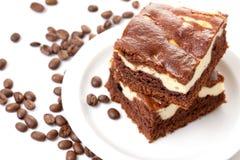 Coffee cake Stock Photo