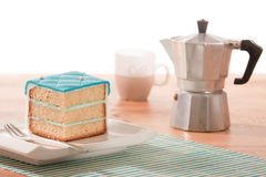 Coffee and cake Royalty Free Stock Photo
