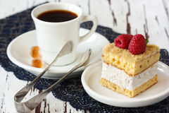 Coffee and cake. Stock Images
