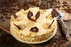 Coffee cake. Royalty Free Stock Image