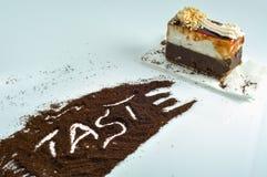 Coffee cake Stock Photography