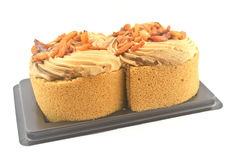 Coffee cake. Royalty Free Stock Image