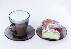 Coffee, cake, cookies, Stock Images