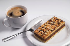 Coffee with cake Stock Image