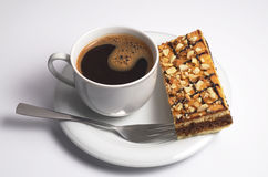 Coffee with cake Royalty Free Stock Photo