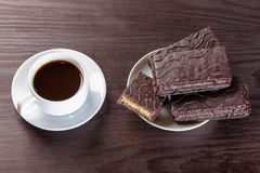 Coffee and cake, Royalty Free Stock Photo