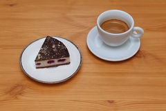 Coffee and cake Royalty Free Stock Photos