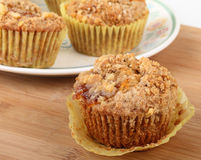 Coffee Cake Muffin Stock Image