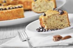 Coffee cake Stock Image