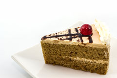 Coffee cake slice. Stock Images