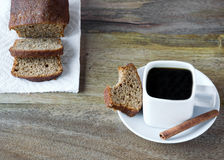 Coffee and cake Stock Photography
