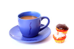 Coffee   with cakes Royalty Free Stock Photography