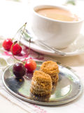 Coffee and cakes Royalty Free Stock Photo