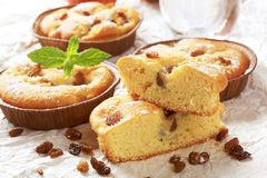 Coffee cakes Royalty Free Stock Image