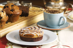 Coffee cakes Royalty Free Stock Photography