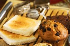 Coffee cakes Stock Photography
