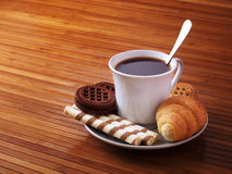 Coffee and cakes Stock Photography