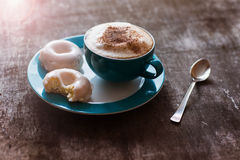 Coffee and cakes Royalty Free Stock Photos
