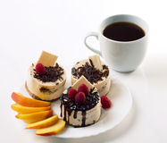 Coffee and cakes Royalty Free Stock Photography