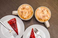 Coffee and cakes Royalty Free Stock Images