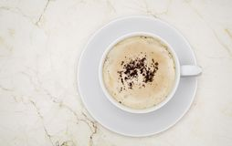 Coffee cappuccino Royalty Free Stock Photos