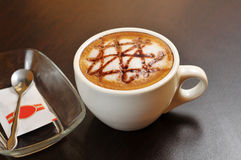 Coffee cappuccino Stock Photography