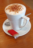 Coffee cappuccino cafe drink Stock Photo