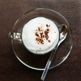 Coffee  cappuccino hot Royalty Free Stock Photography
