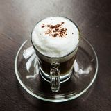 Coffee  cappuccino hot Royalty Free Stock Images
