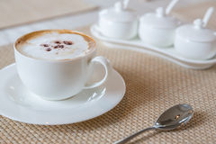 Coffee cappuccino Stock Photo