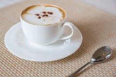 Coffee cappuccino Stock Photos
