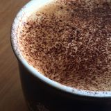 Coffee cappucinno. A mug of fresh coffee in the morning for breakfast Royalty Free Stock Image