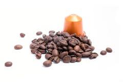 Coffee capsule Stock Photos
