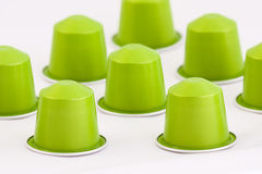 Coffee capsules Royalty Free Stock Photography