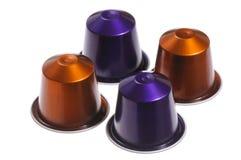 Coffee capsules Royalty Free Stock Photo
