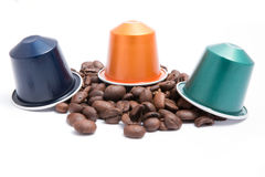 Coffee capsules Royalty Free Stock Image