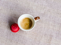 Coffee capsules. Fragrant, mellow atmosphere Stock Photo