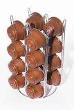 Coffee capsules. Royalty Free Stock Image
