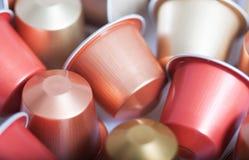 Coffee capsules Stock Photography