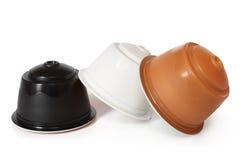Coffee capsules Royalty Free Stock Photos