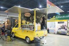 Coffee car in Thailand best shopping fair 2015 Stock Photos