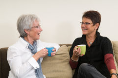 Coffee Chat Stock Photography