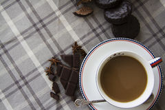 Coffee and choco background  15 Royalty Free Stock Photography