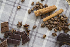 Coffee and choco background  27 Royalty Free Stock Images