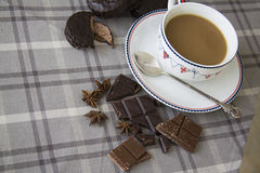 Coffee and choco background 18 Royalty Free Stock Images